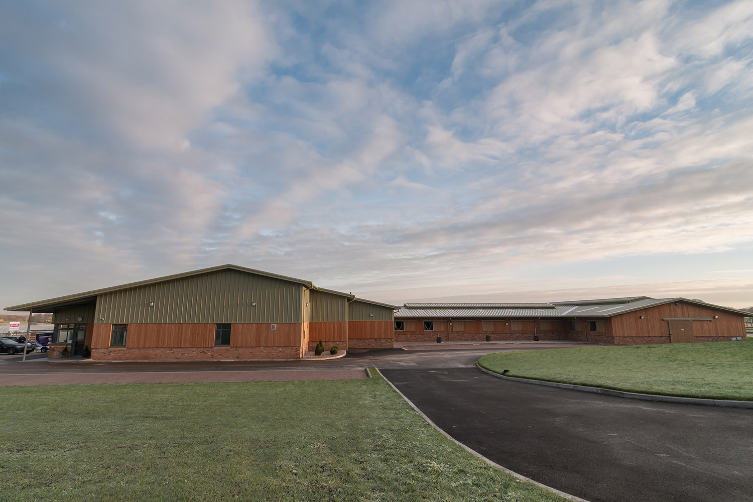 Thompson House Equestrian Centre Wcp Associates